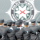 PSNI recruits at a passing out parade