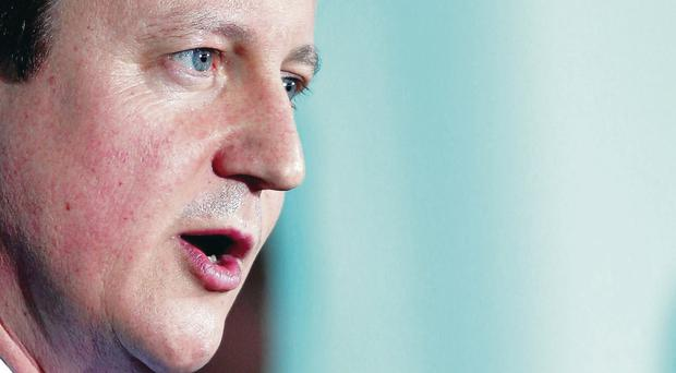 David Cameron wants parties to agree a new deal