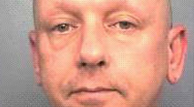 Edward Stirling, a violent offender who has gone missing after being released from prison on licence (Wiltshire Police/PA)