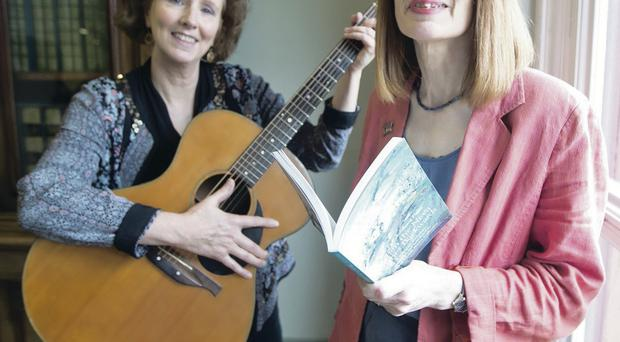 The One City One Book campaign hit the high notes when musician Jane Cassidy joined poet Ruth Carr for a special performance at Belfast's Central Library inspired by the life of Mary Ann McCracken