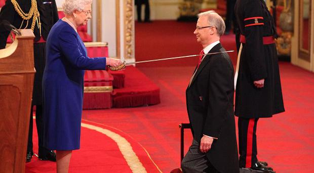 Sir Jonathan Stephens was knighted for public services last year