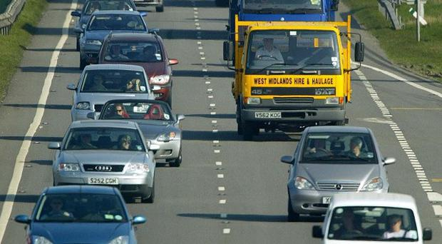 Congestion at the busiest times on local roads is twice as bad as on main highways, a survey has revealed