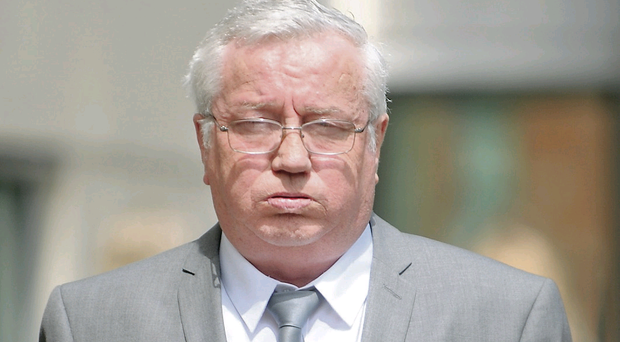 Traditional Irish musician Francis McPeake at Belfast Crown Court
