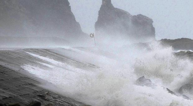 Violent storms have been blamed for hitting the Blue Flag status of many beaches