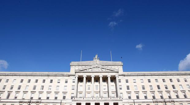 The atmosphere at Stormont yesterday was said to be 'business-like'