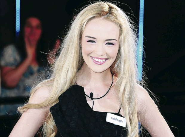 Ashleigh hopes to continue work as a model