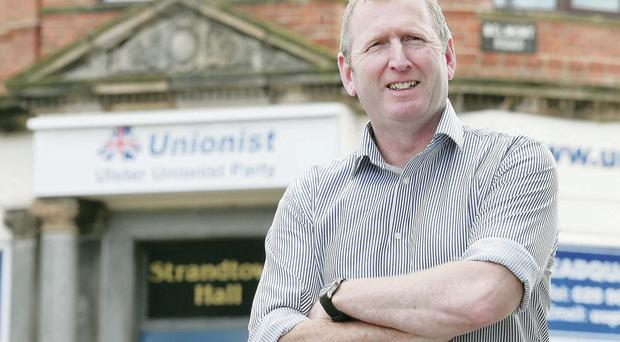 Life experience: Former Army Captain Doug Beattie is now serving his country as a UUP councillor in Craigavon
