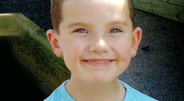 Eight-year-old Robert Christie, who died after being overcome by fumes on a farm in Dunloy at the weekend