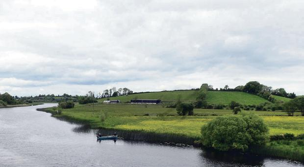 Cleenish Island (right) on Lough Erne, where the returning heroes were given homes and farms after the First World War