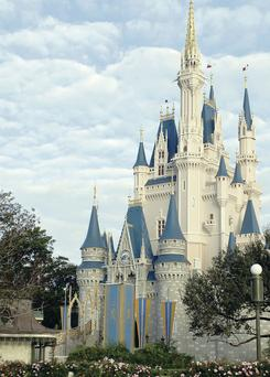 Cinderella's Castle at Walt Disney World, one of the key attractions of Orlando