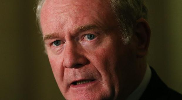 Promoting equality: Martin McGuinness