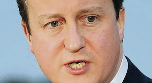 Demand: David Cameron