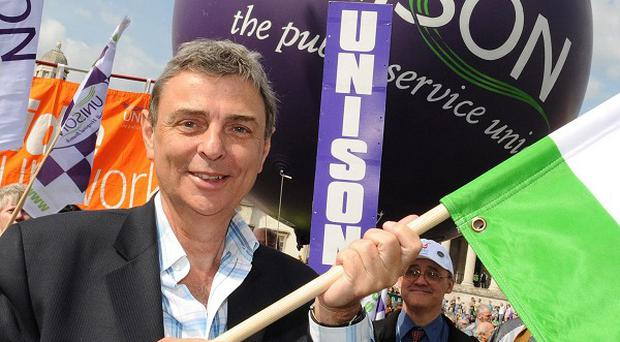 Dave Prentis, General Secretary of Unison, predicted that a walkout on July 10 could be bigger than the General Strike