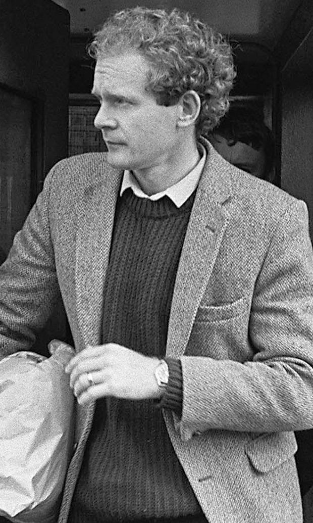 McGuinness in the 1980s