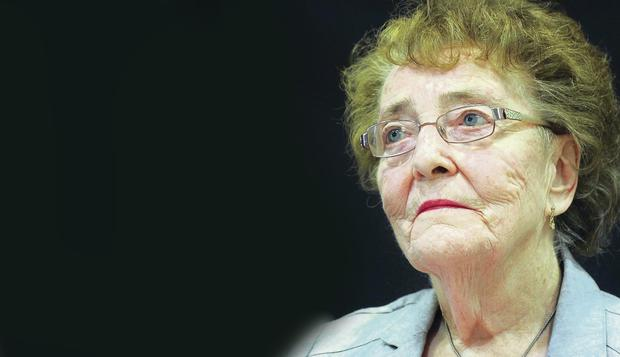 Rosemary Campbell, widow of murdered RUC officer Joseph Campbell