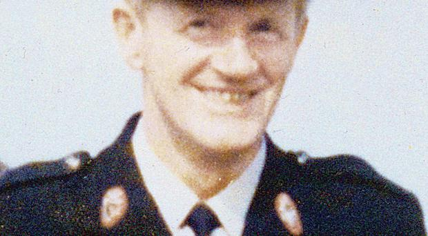 Murdered RUC officer Joseph Campbell