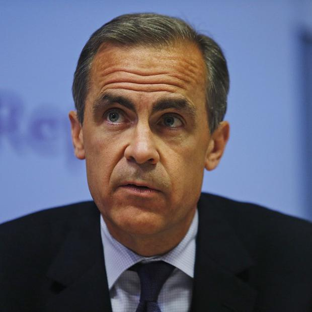 Mark Carney has held talks with Peter Robinson