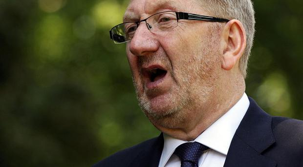 General secretary of the Unite union Len McCluskey warns of a worsening of austerity if Conservatives win the next election