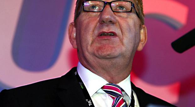 Len McCluskey has pledged his full support to Labour