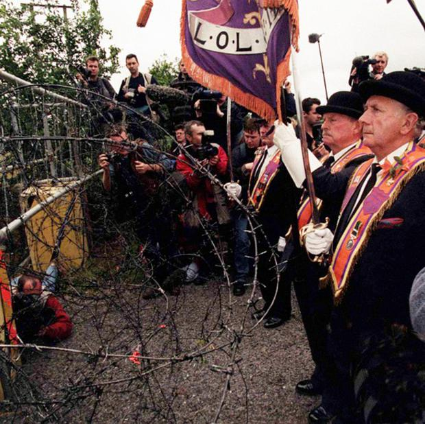 The issue of parades is a contentious one in Northern Ireland