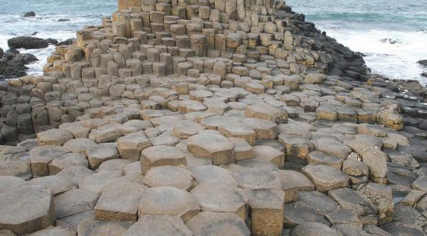 Lottery cash helped fund a visitor centre at the Giant's Causeway
