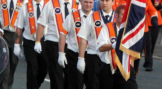 The call follows a discussion about the marching situation in north Belfast at a ministerial meeting