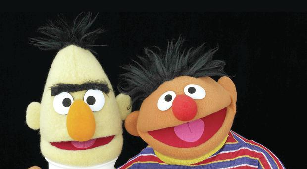 Sesame Street favourites Bert and Ernie
