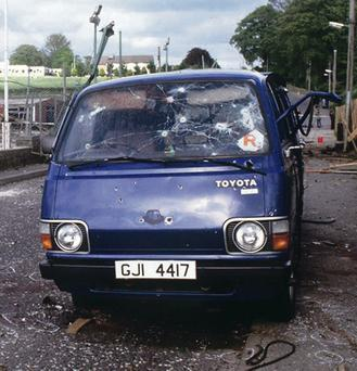 loughgall men All eight ira men who attacked loughgall were killed all had multiple bullet wounds, the vast majority above waist level six of the dead had serious gunshot wounds to the head.
