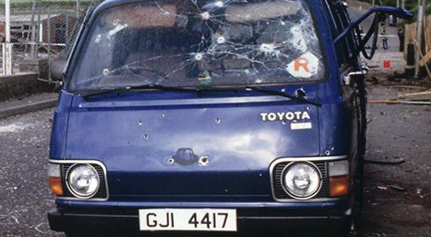 The aftermath of the Loughgall shootings in 1987