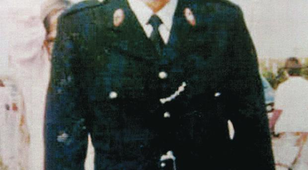 Sergeant Joe Campbell was shot dead in 1977 as he closed the gates of Cushendall RUC station