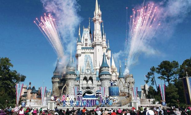 The Magic Kingdom at Walt Disney World in Orlando, Florida