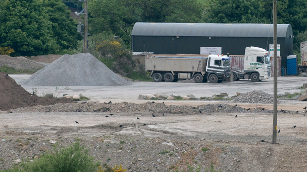 Campsie Sand and Gravel on the outskirts of Derry where the alleged illegal dump was found