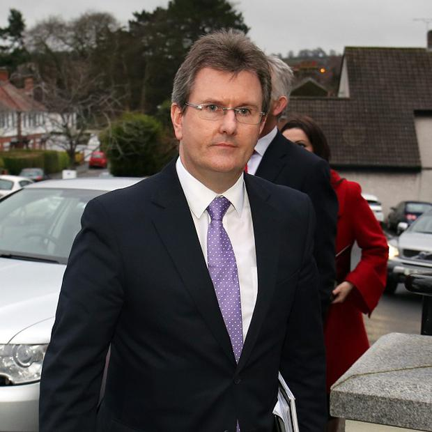 Democratic Unionist Jeffrey Donaldson has said he is