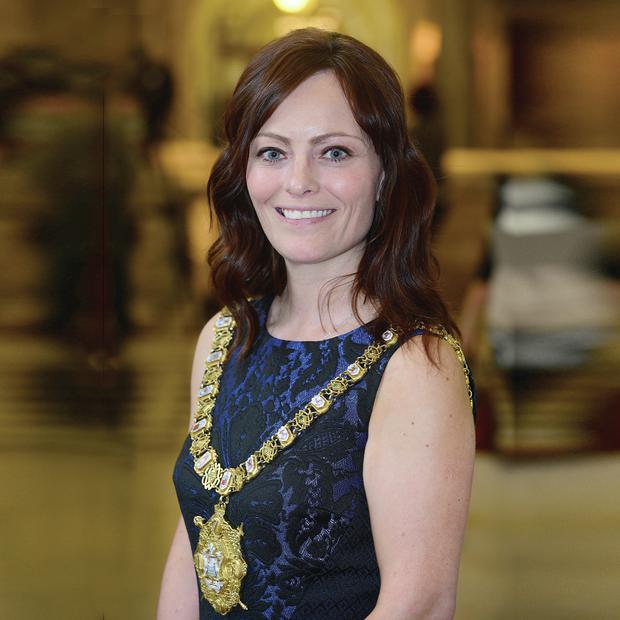 Speaking out: Bright new face: Nichola Mallon wants the City Hall to be more open to the public and to tourists