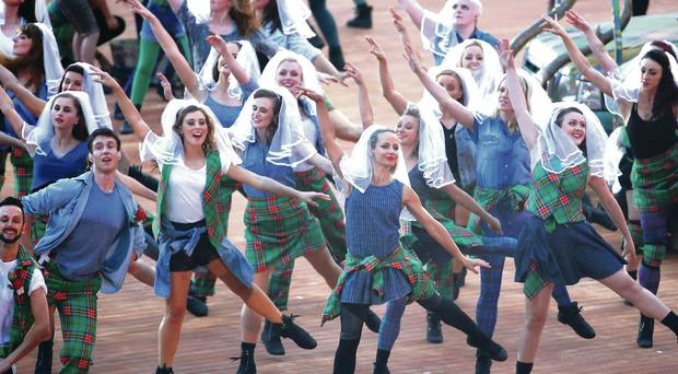 Spectacular scenes from last's night's opening of the Commonwealth Games