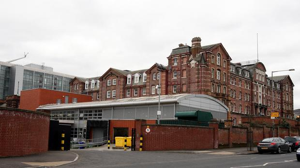 Most of the cases were at the Royal Victoria Hospital in Belfast
