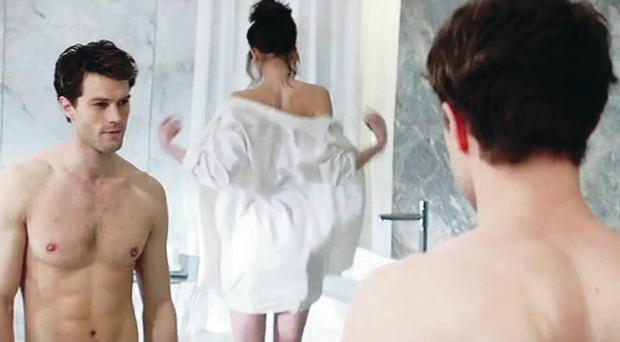 Images from the trailer for Fifty Shades Of Grey starring Jamie Dornan