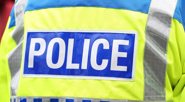 Police said a man has been arrested in Lurgan on suspicion of possession of a firearm