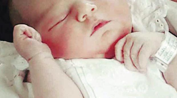 Little Lola Marie Ward was born six days after her due date