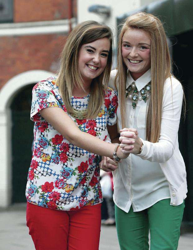 Sian and Seaneen McCloskey