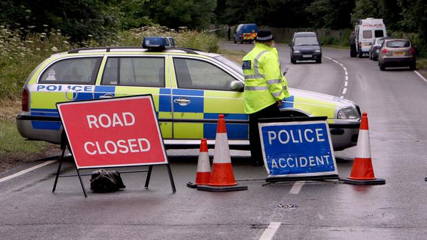 Three people died after road crashes involving tractors