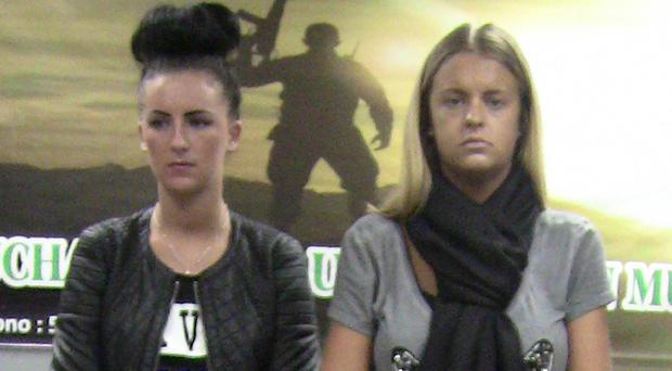 Michaella McCollum and Melissa Reid were jailed last year for six years and eight months. (AP)