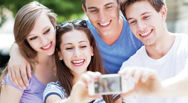 Picture perfect: Technology is a way of life for most teenagers