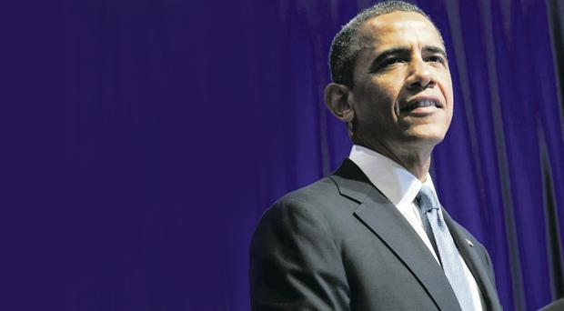 US President Barack Obama has grown exasperated with our first ministers
