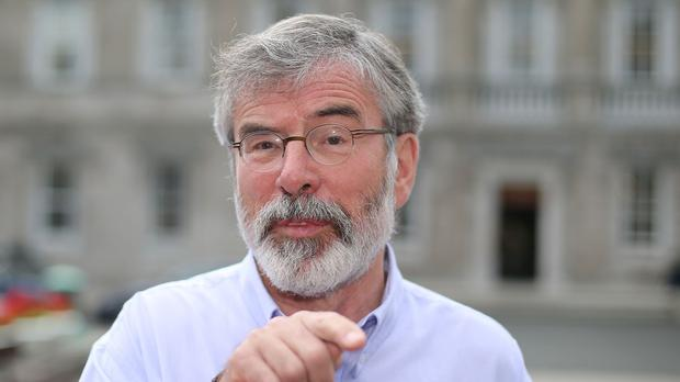 Sinn Fein leader Gerry Adams says power-sharing is being undermined