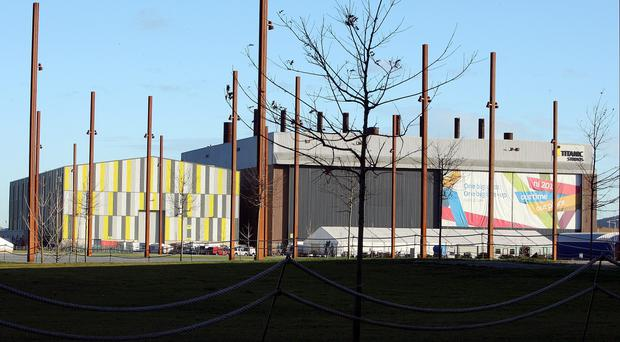 Game of Thrones is made at Titanic Studios in Belfast