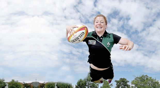 Scrumthing special: Grace Davitt in action