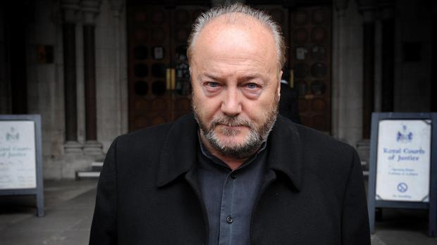 George Galloway is due to speak at the Ulster Hall