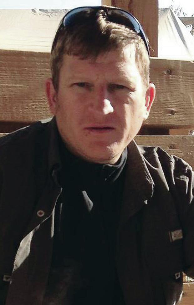 Simon Chase who was shot dead in Afghanistan