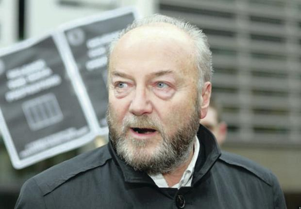 A storm has erupted over an invitation extended to the outspoken and stridently pro-Gaza politician George Galloway to speak at the Ulster Hall